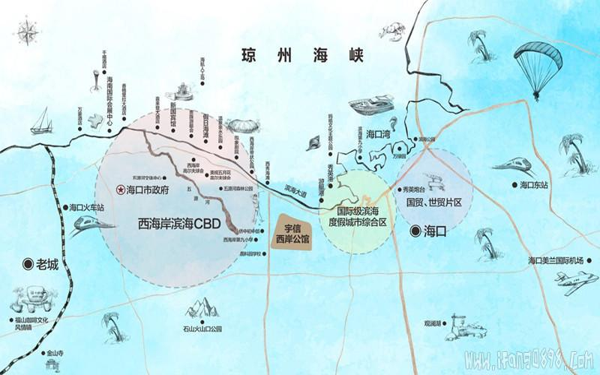 宇信·西岸公馆位置图