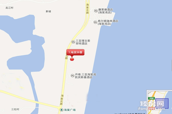 海棠华著位置图
