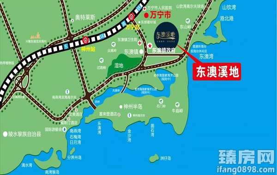 东澳溪地规划图